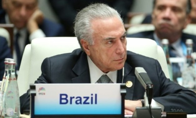 Brazilian President Michel Temer - File photo