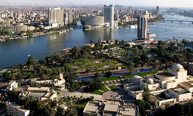 View from Cairo Tower – CC via Wikipedia/Arad