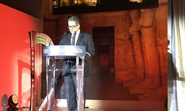 Minister of Tourism and Antiquities Khaled al-Anani – Official Facebook Page