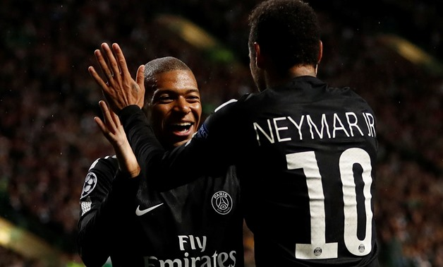Neymar and Mbappe - Reuters