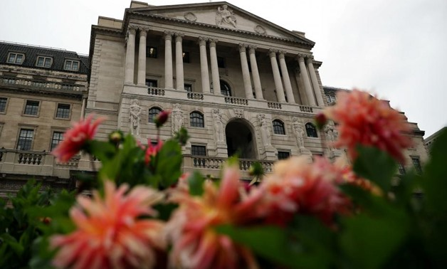 FILE PHOTO - The Bank of England is seen in the City of London, Britain, August 23, 2017. REUTERS/Hannah McKay