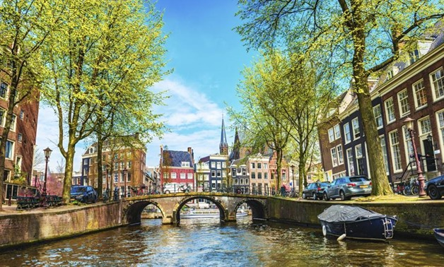 Amsterdam boasts of a UNESCO protected canal ring.(AFP)
