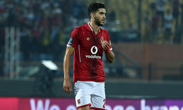 Walid Azarou – Press image courtesy Al Ahly official website