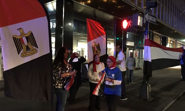 Egyptian community in New York welcomes Sisi