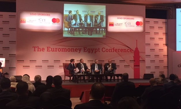 Euromoney Egypt Conference in Cairo - Press Photo