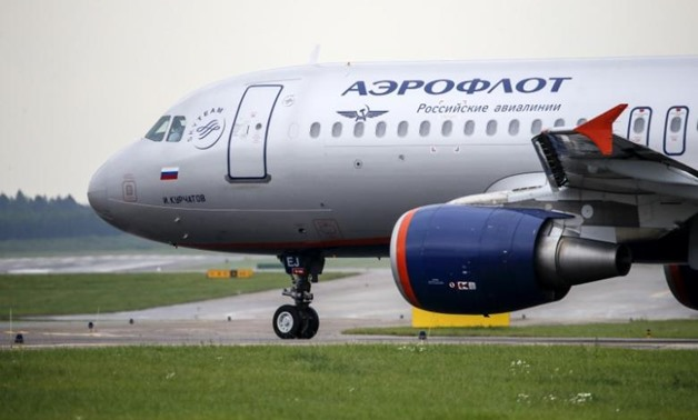 File- A view shows an Aeroflot Airbus A320 aircraft on a runway at Sheremetyevo International Airport outside Moscow, Russia, July 7, 2015. REUTERS/Maxim Shemetov