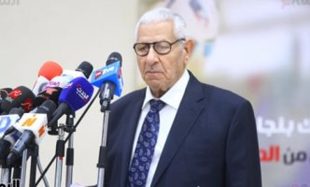Makram Mohammed Ahmed, head of the Supreme Council -File Photo