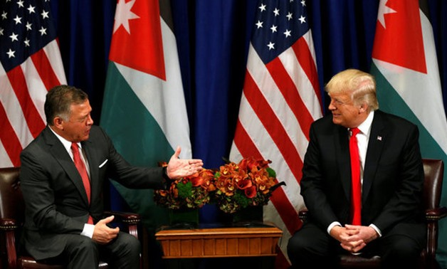 Trump meets with the King of Jordan in New York - REUTERS