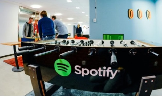 © AFP/File | Swedish company Spotify is one of the leaders of music streaming