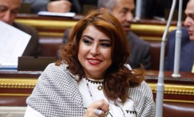 Egyptian parliamentarian Ghada Agami- File photo