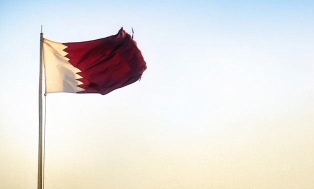 Qatari flag - File photo