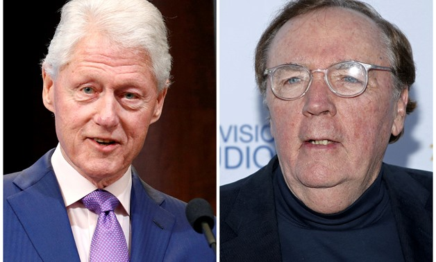 Former President Bill Clinton (L) and Author James Patterson (R) in Washington, DC, U.S, on March 9, 2017 and in West Hollywood, California, U.S. on May 18, 2015 respectively. REUTERS