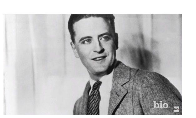 F. Scott Fitzgerald via Biography YouTube Channel