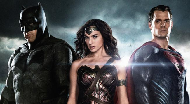 Batman, Wonder Woman and Superman- Press photo