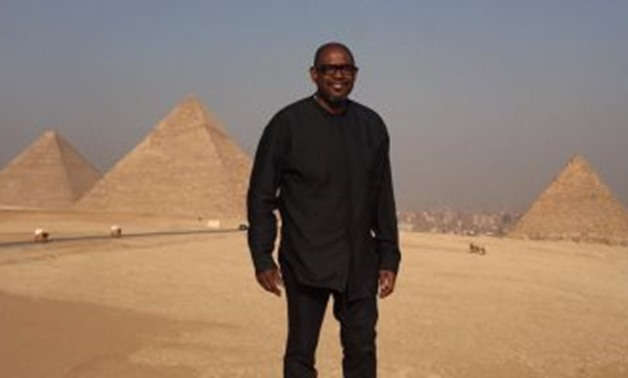 Forest Whitaker beside Giza Pyramids-File Photo