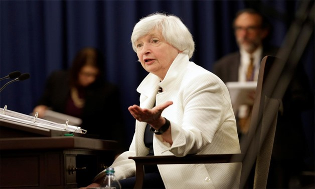Federal Reserve Chairman Janet Yellen speaks during a news conference in Washington, U.S., September 20, 2017 - REUTERS/Joshua Roberts