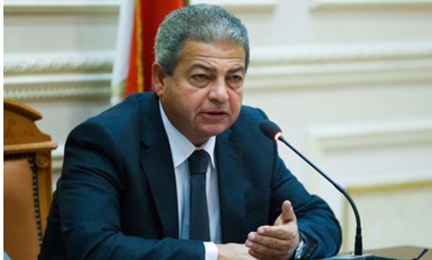 Khaled Abdel Aziz Minister of Youth & Sports - Press image courtesy file photo