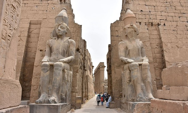 Entrance to Luxor Temple, Egypt - MusikAnimal - Wikimedia Commons