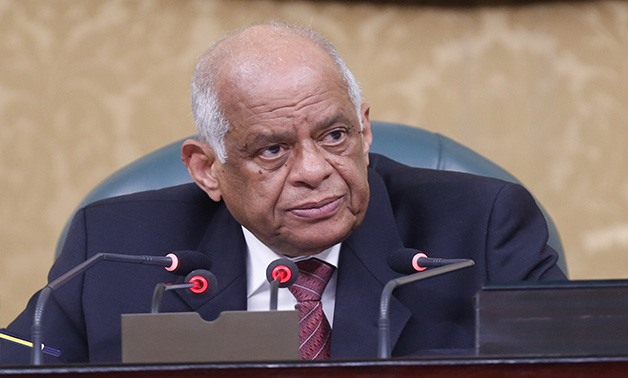 File - Speaker of the House of Representatives Ali Abdel Aal