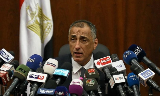CBE governor Tarek Amer- Reuters photo