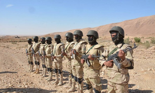 Egyptian Soldiers – File Photo