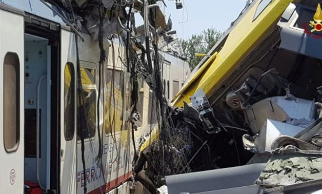 Train accident - Reuters