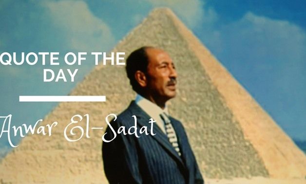 Anwar El-Sadat - Egypt Today/File Photo