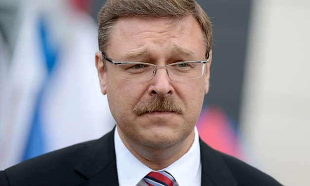 Federation Council International Affairs Committee Konstantin Kosachev - File Photo