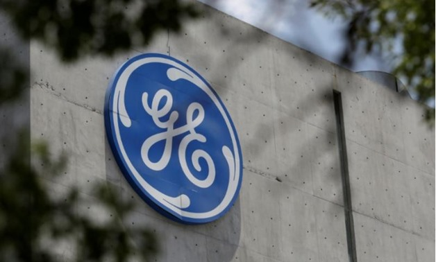 The logo of General Electric Co. is pictured at the Global Operations Center in San Pedro Garza Garcia, neighbouring Monterrey, Mexico, on May 12, 2017. REUTERS/Daniel Becerril