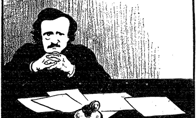 Edgar Allan Poe by Felix Vallotton courtesy of Wikimedia