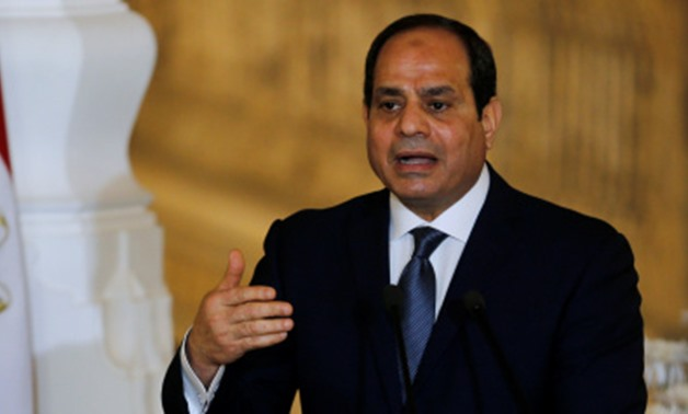President Abdel Fatah al-Sisi- File Photo
