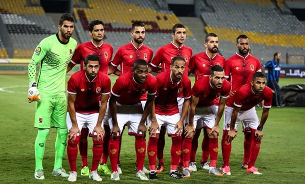 Al Ahly – press courtesy image of Al Ahly official Twitter account