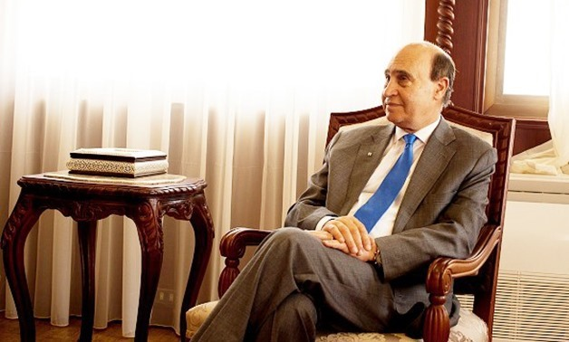 FILE: Head of the Suez Canal Authority MohabMamish