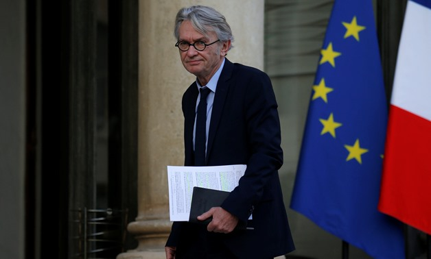 French Force Ouvriere (FO) labour union leader Jean-Claude Mailly arrives for a meeting with French President at the Elysee Palace in Paris, France, October 12, 2017. REUTERS/Pascal Rossignol