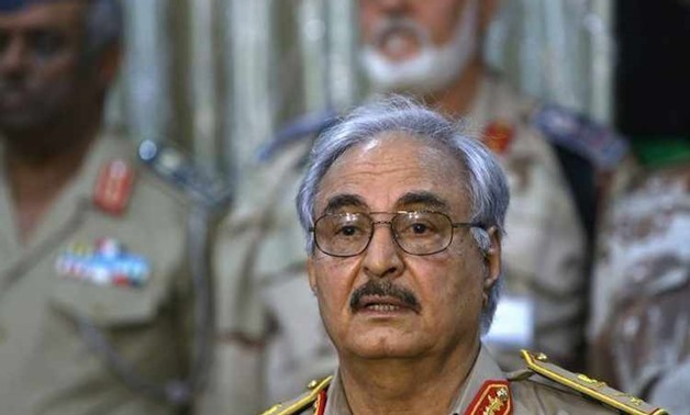 The Libyan Commander-in-chief Field Marshal Khalifa Haftar – File Photo
