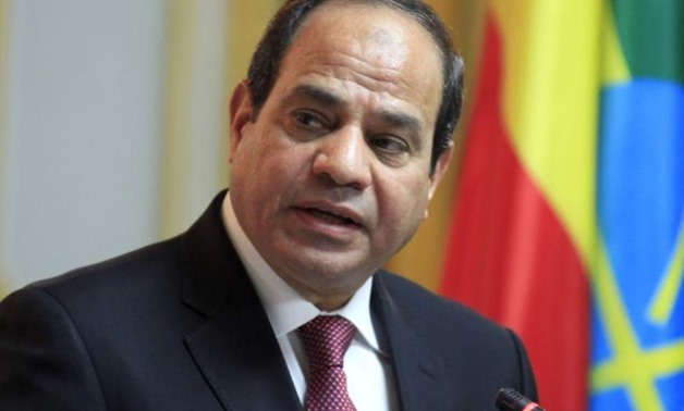 President Abdel Fatah al-Sisi – File Photo
