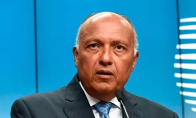 the Egyptian Foreign Ministers, Sameh Shoukry. file photo