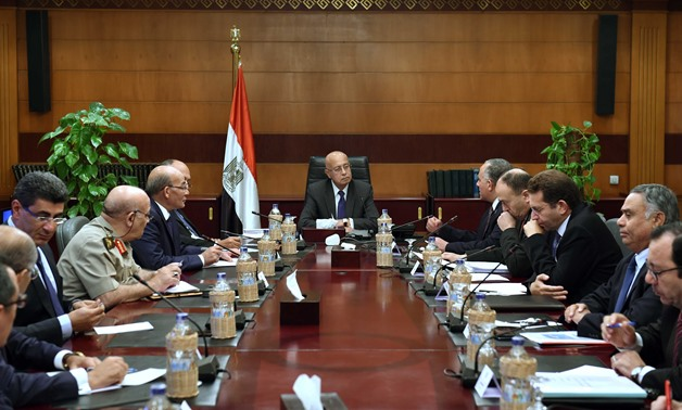 Prime Minister Sherif Ismail chairs Nile waters meeting - Press photo/Photo credit Soliman el-Otify