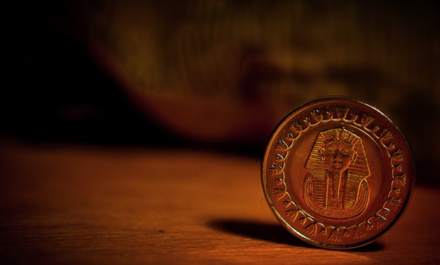 The Egyptian pound coin- Winter Sorbeck via Wikimedia Commons