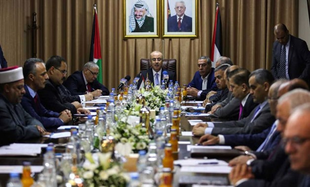 Palestinian Cabinet Convenes In Gaza In Move To Reconcile With Hamas - File Photo