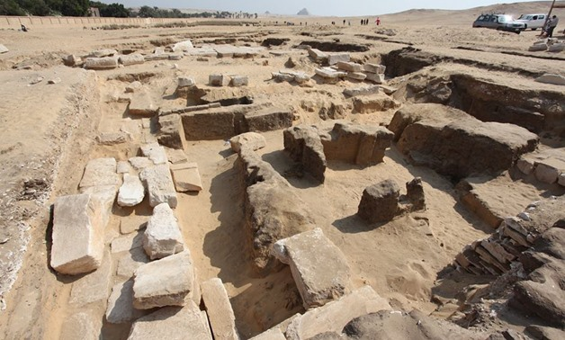 Remains of King Rameses II Temple [Photo: Ministry of Antiquities Official Facebook page]