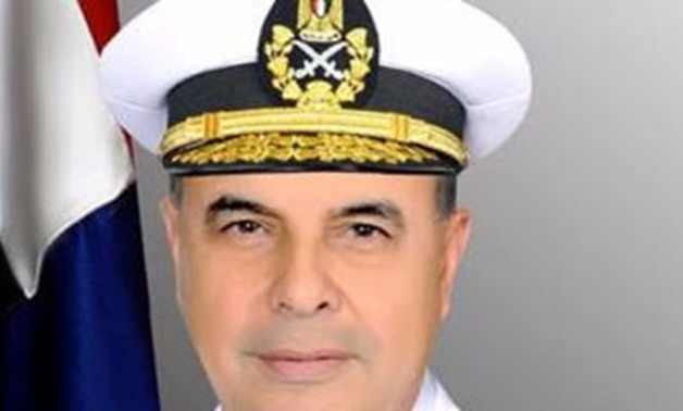 The Commander-in-Chief of the Egyptian navy, Vice-Admiral Ahmed Khaled- File Photo