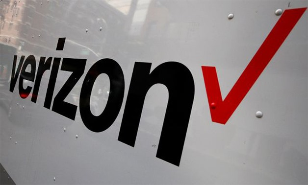 The Verizon logo is seen on the side of a truck in New York -- REUTERS