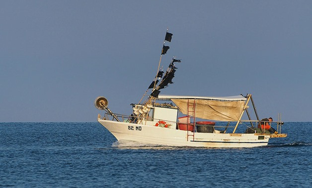 Fishing boat in Adriatic Sea - wikimedia commons - Petar Milošević