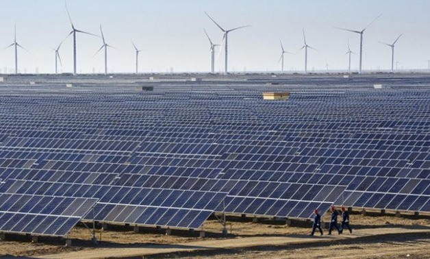 Renewable energy plants - REUTERS