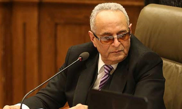 FILE- Head of the Egyptian Parliament's Constitutional and Legislative Affairs Committee, Bahaa al-Din Abu Shoqa -