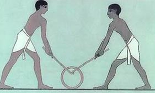 Hockey in Ancient Egyptian Society [Photo: Pinterest]