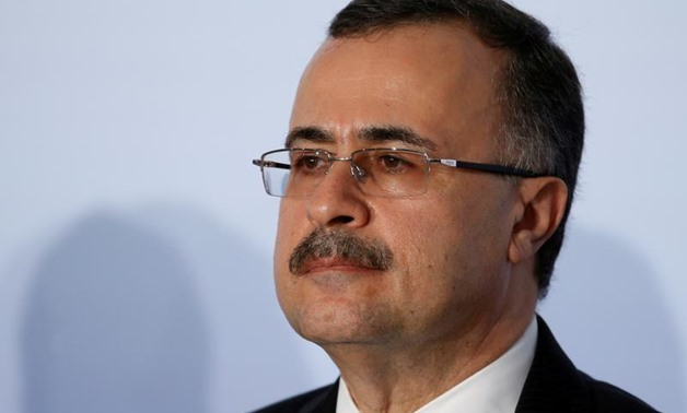 Amin H. Nasser, President and CEO of Saudi Arabian Oil Company Saudi Aramco, attends the Oil and Gas Climate Initiative summit in Paris, France, October 16, 2015. REUTERS/Jacky Naegelen/File Photo