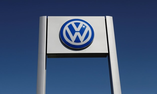 A Volkswagen logo is seen at Serramonte Volkswagen in Colma, California - REUTERS