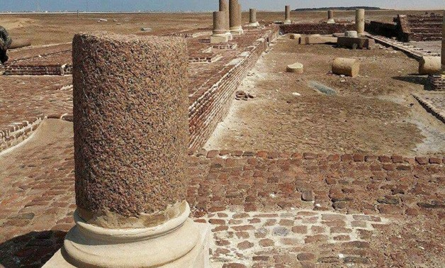 Ruins of  Pelusium, where the Holy Family is believed to have crossed – Egypt Today archive